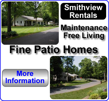 Poplar Court Patio Home Community.  Maintenance Free Living, Glade Hill, Rocky Mount Virginia.  Homes for rent, housing
