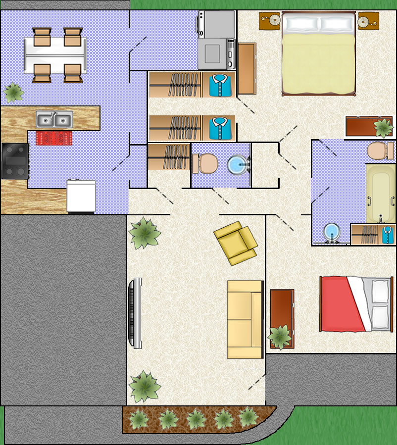 Patio Home Floor Plan »